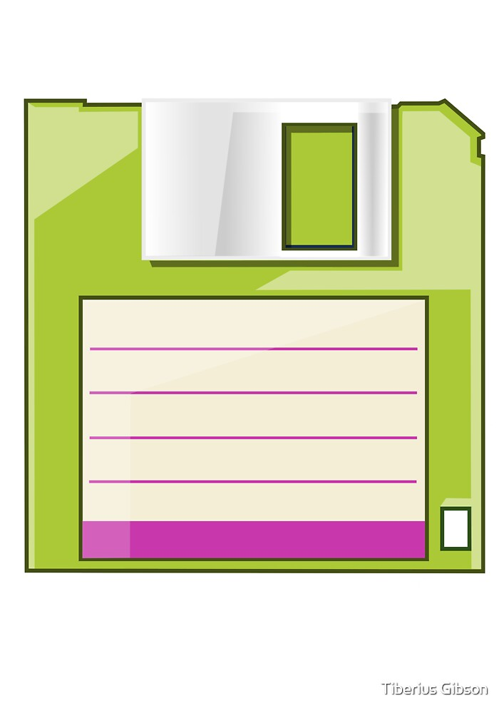 Green Floppy by Tiberius Gibson
