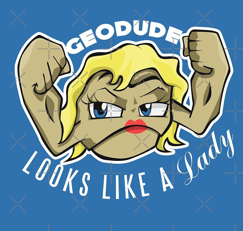 PokéPun - 'Geodude looks like a Lady' by Alex Clark