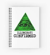 Illuminati Confirmed Spiral Notebook
