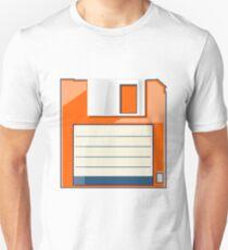 Orange Floppy Unisex T-Shirt