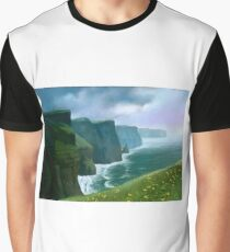 The Cliffs of Moher Graphic T-Shirt