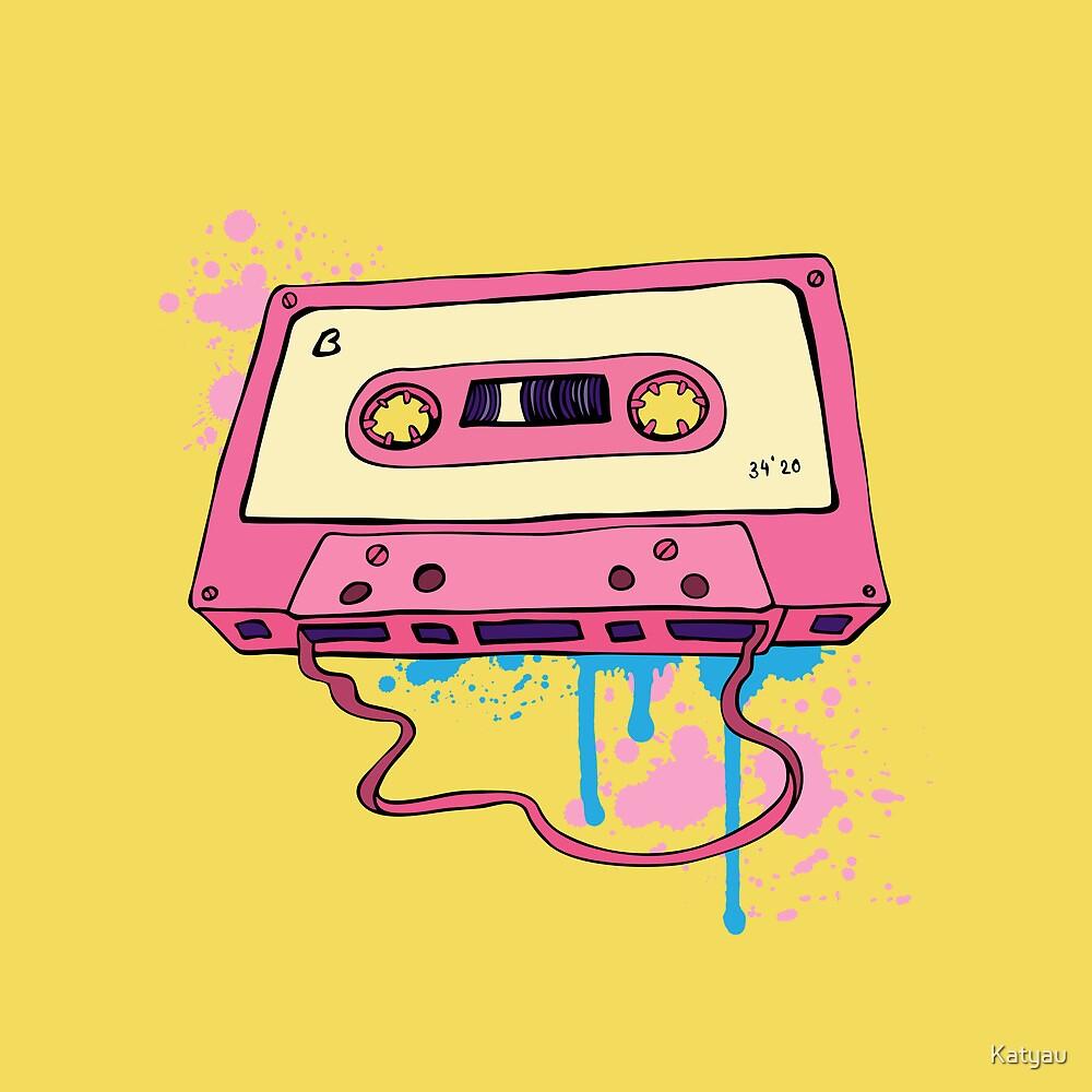 Retro cassette tape quot by katyau redbubble