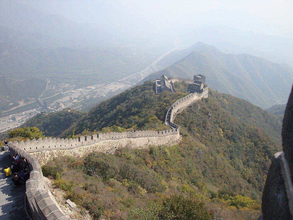Great Wall, Beijing by morvfraser