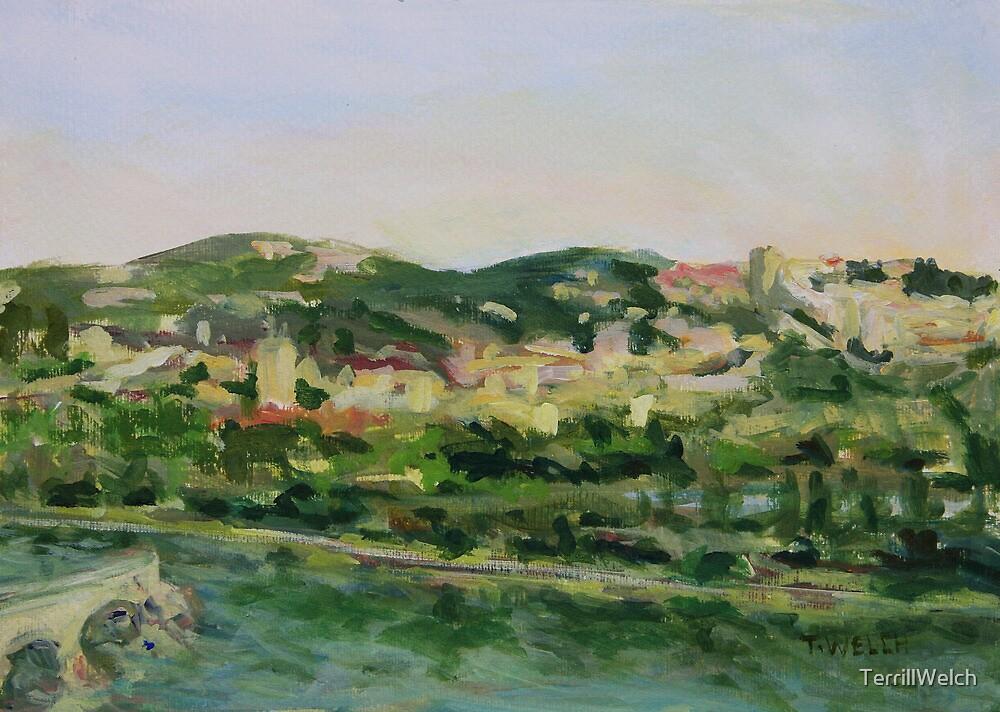 Across the Way Villeneuve lez Avignon France  by TerrillWelch