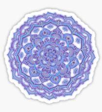 Lilac Spring Doodle Flower Sticker