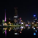 Melbourne lights by Apostle