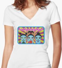 Fruity Oaty Bar! Shirt 2 (Firefly/Serenity) Women's Fitted V-Neck T-Shirt