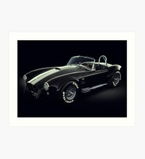 Shelby Cobra 427 Ghost Art Print