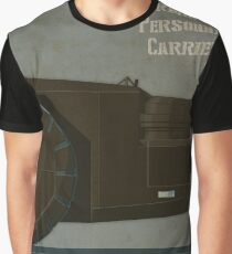 M577 Armored Personnel Carrier Tritych III/III Aliens APC Graphic T-Shirt