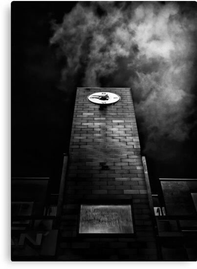 Clock Tower No 110 Davenport Rd Toronto Canada by Brian Carson