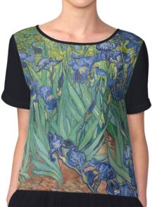 Van Gogh - Irises Chiffon Top
