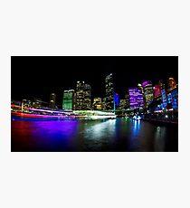 Circular Quay - Vivid Sydney Photographic Print