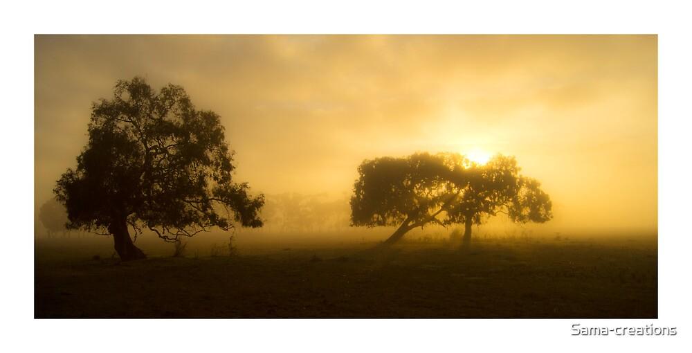 Foggy Morning, Yuroke by Sama-creations