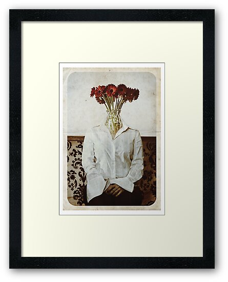 Still Life with The Faceless Woman by Adriana Glackin
