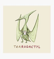 Tearodactyl Photographic Print