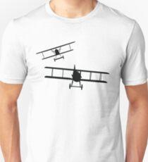 Fokker DVII versus Spad XIII  T-Shirt