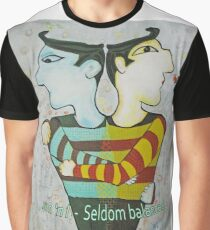 GEMINI   'Jim 'n I  Seldom Balanced Graphic T-Shirt