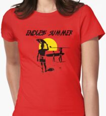 ENDLESS SUMMER - CLASSIC SURF MOVIE Womens Fitted T-Shirt