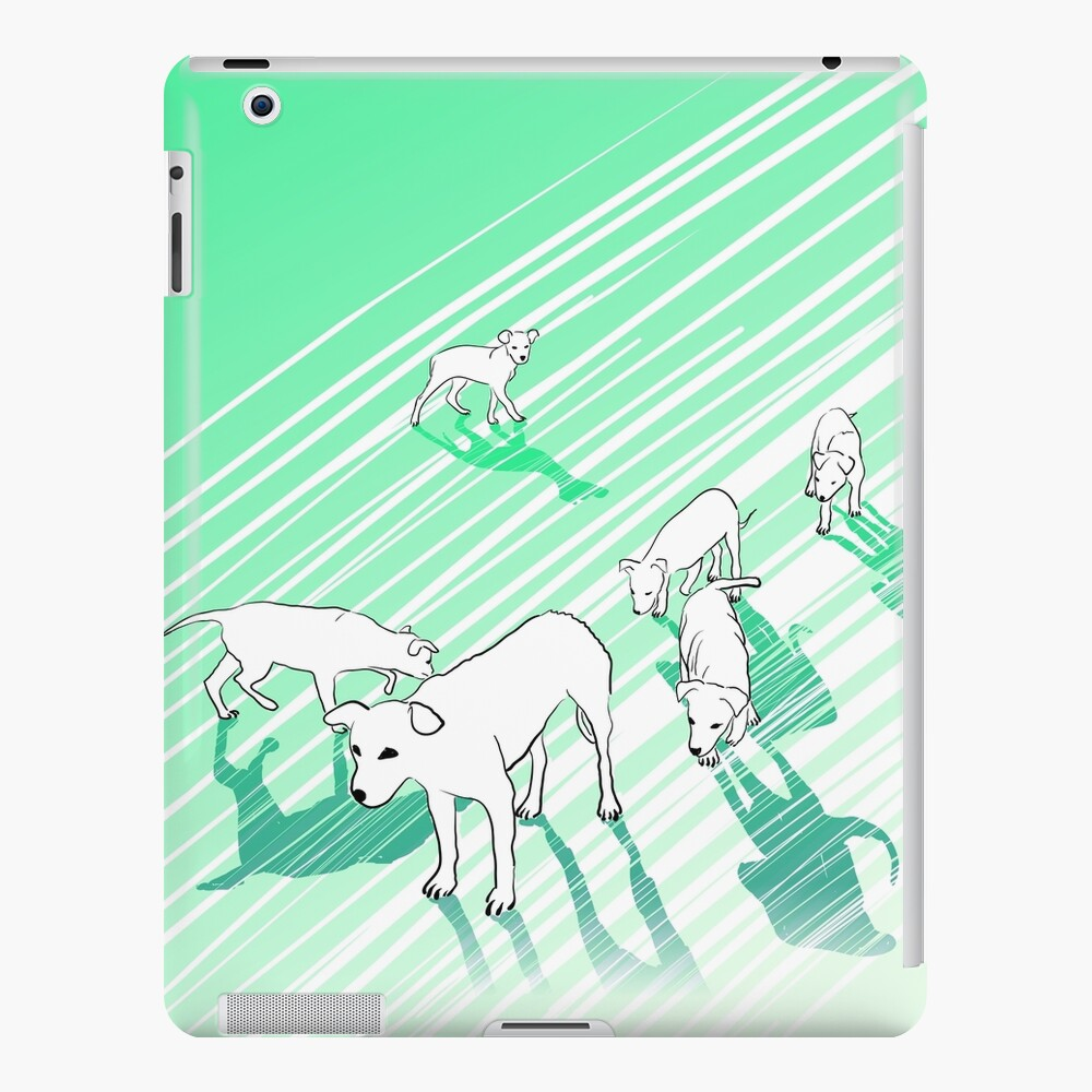 Dog Family iPad Case & Skin