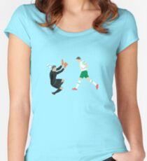 The Italian Rob Women's Fitted Scoop T-Shirt