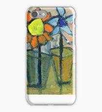 floral dialogue iPhone Case/Skin