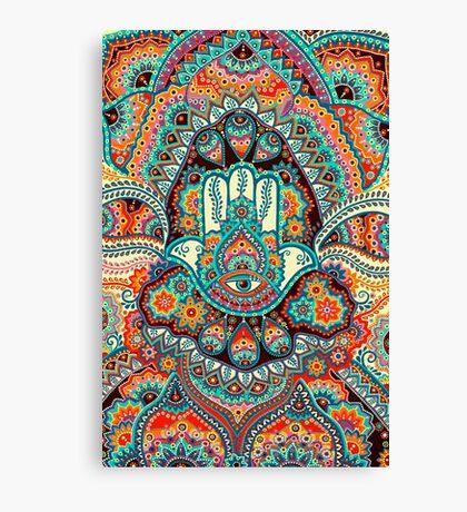 Hamsa Hand Canvas Print