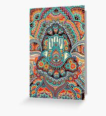Hamsa Hand Greeting Card