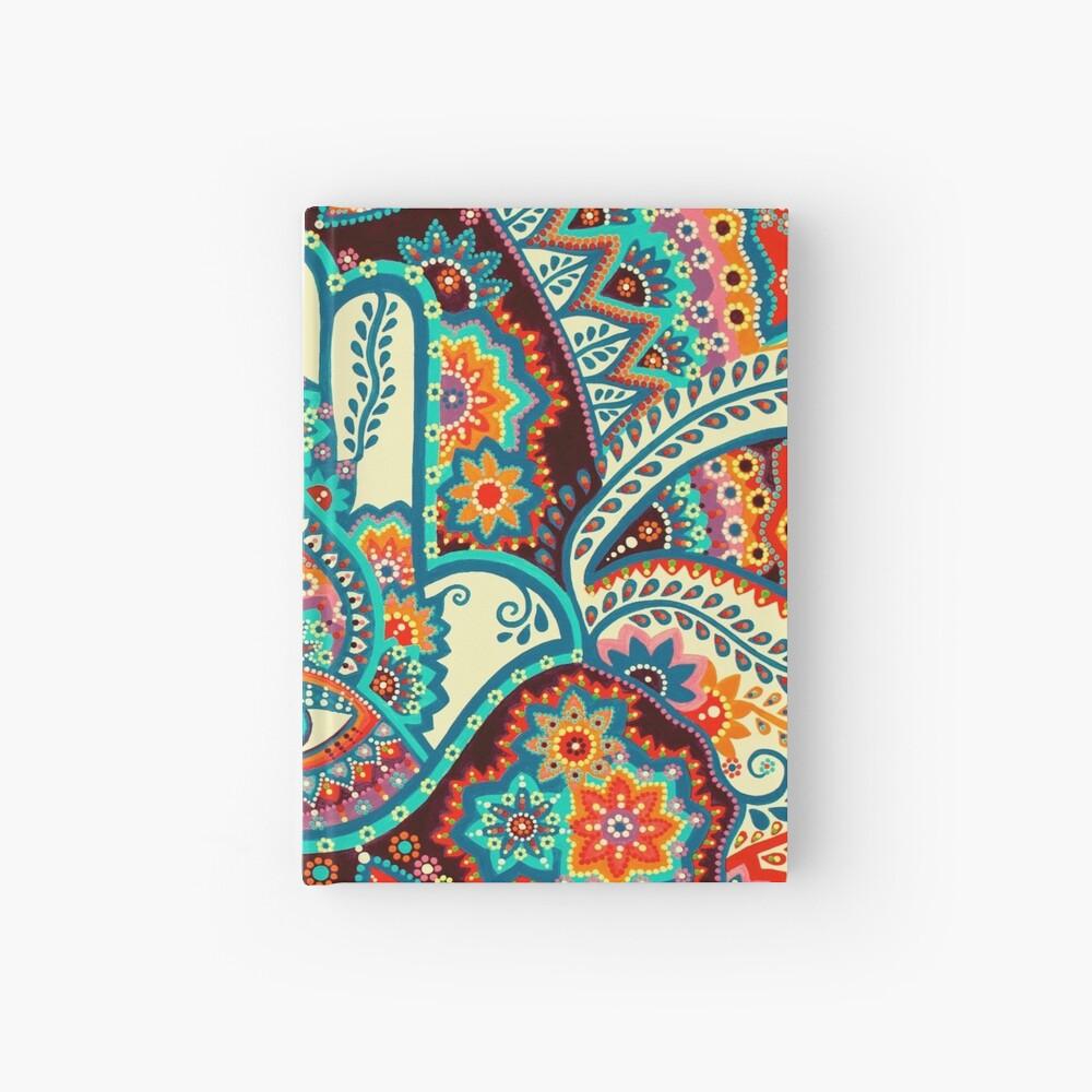 Hamsa Hand Hardcover Journal