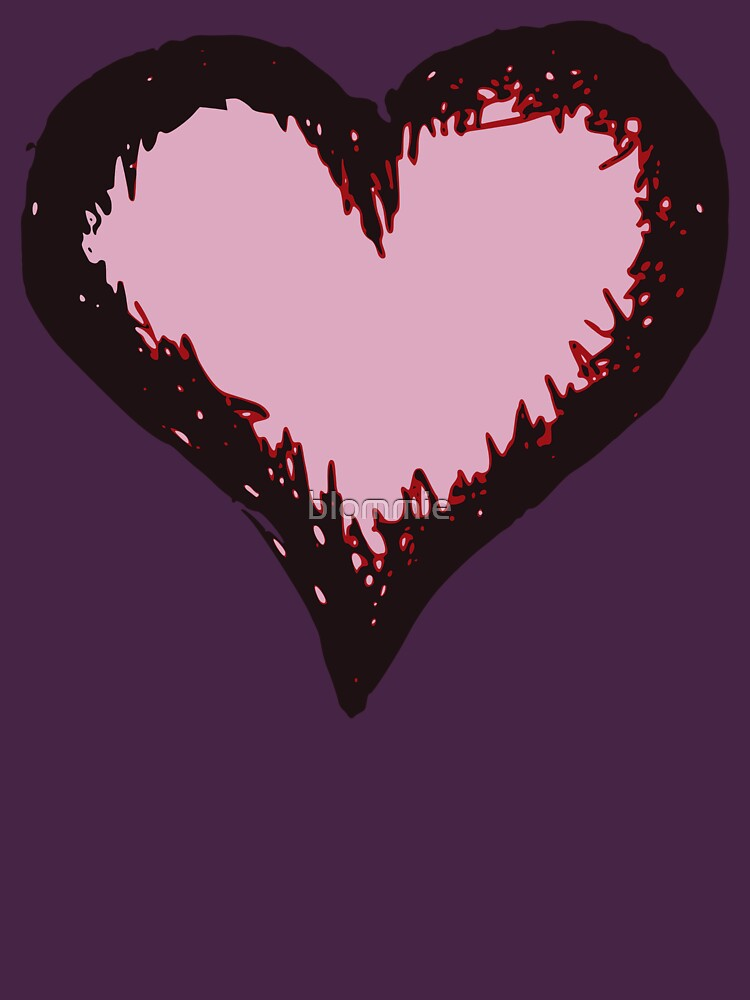 Jagged heart by blommie