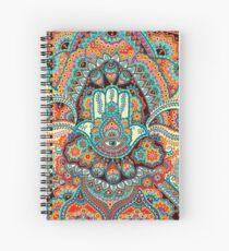 Hamsa Hand Spiral Notebook
