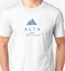 Alta Ski Resort Utah Unisex T-Shirt