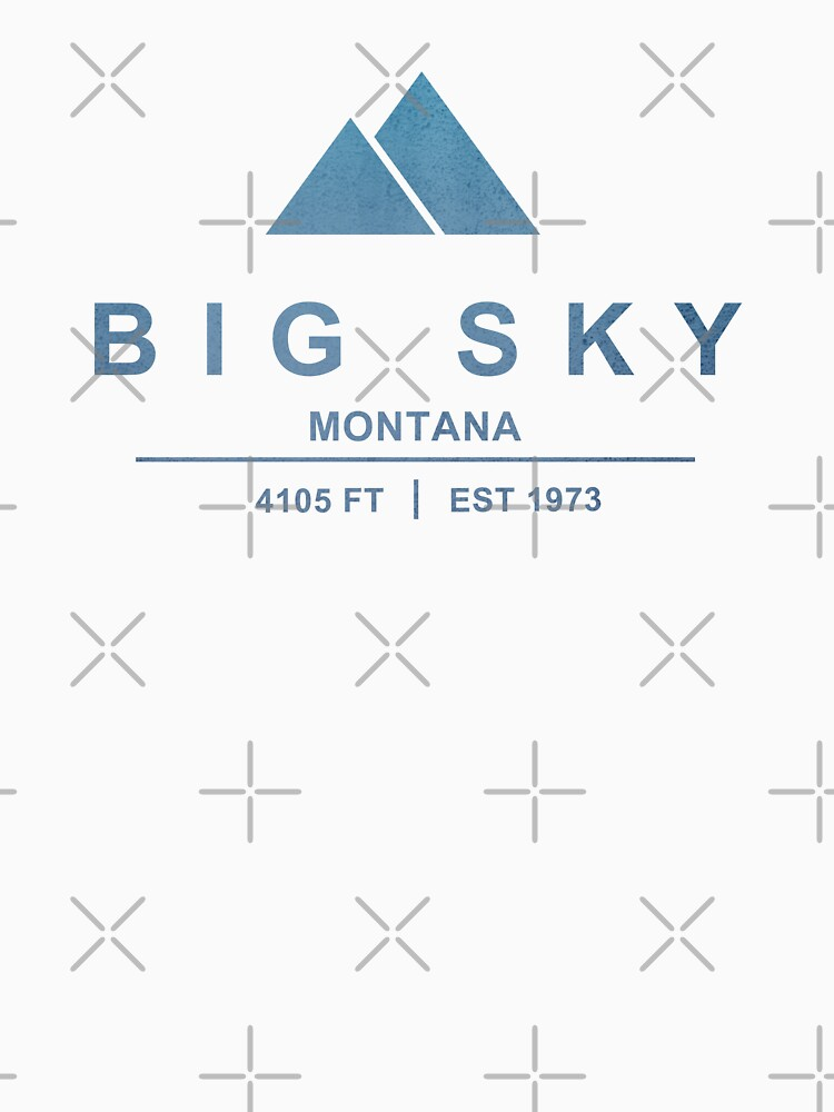 Big Sky Ski Resort Montana by CarbonClothing