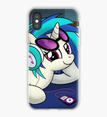 The Audiophile (Vinyl Scratch Poster) iPhone Case