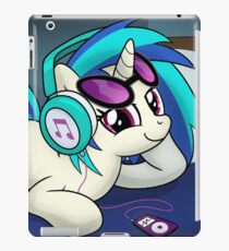 Vinilo o funda para iPad The Audiophile (Vinyl Scratch Poster)