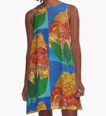 A Day In The Garden A-Line Dress