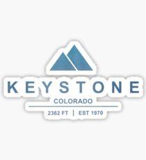 Keystone Ski Resort Colorado Sticker