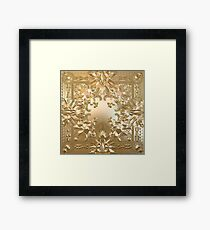 Watch the Throne Framed Print