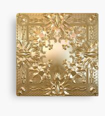Watch the Throne Canvas Print
