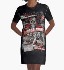 Spook Show Horror movie Monsters  Graphic T-Shirt Dress