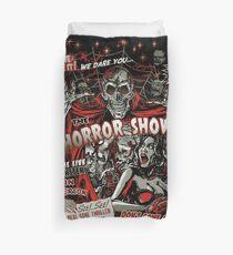 Spook Show Horror movie Monsters  Duvet Cover