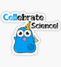 Cellebrate Science! Sticker