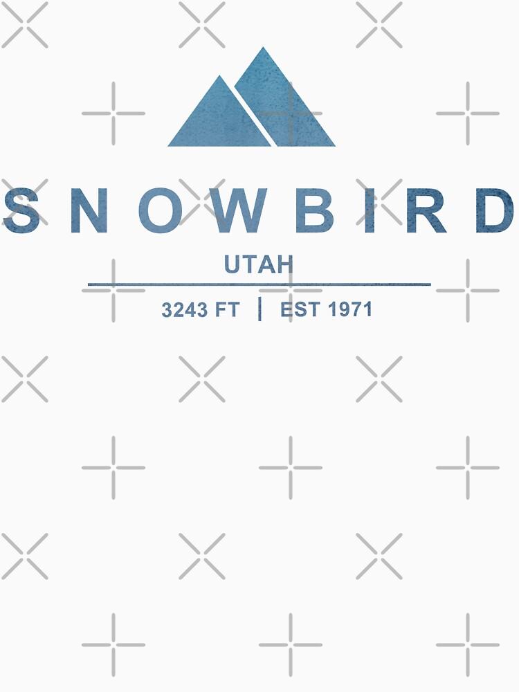 Snowbird Ski Resort Utah by CarbonClothing