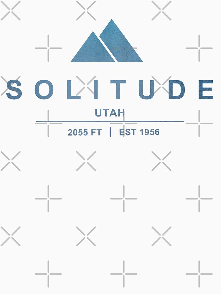 Solitude Ski Resort Utah by CarbonClothing