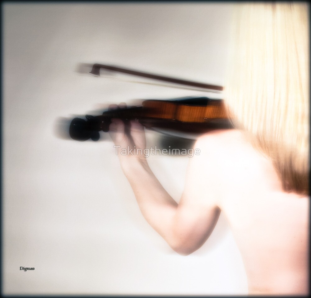 The Violinist  by Takingtheimage