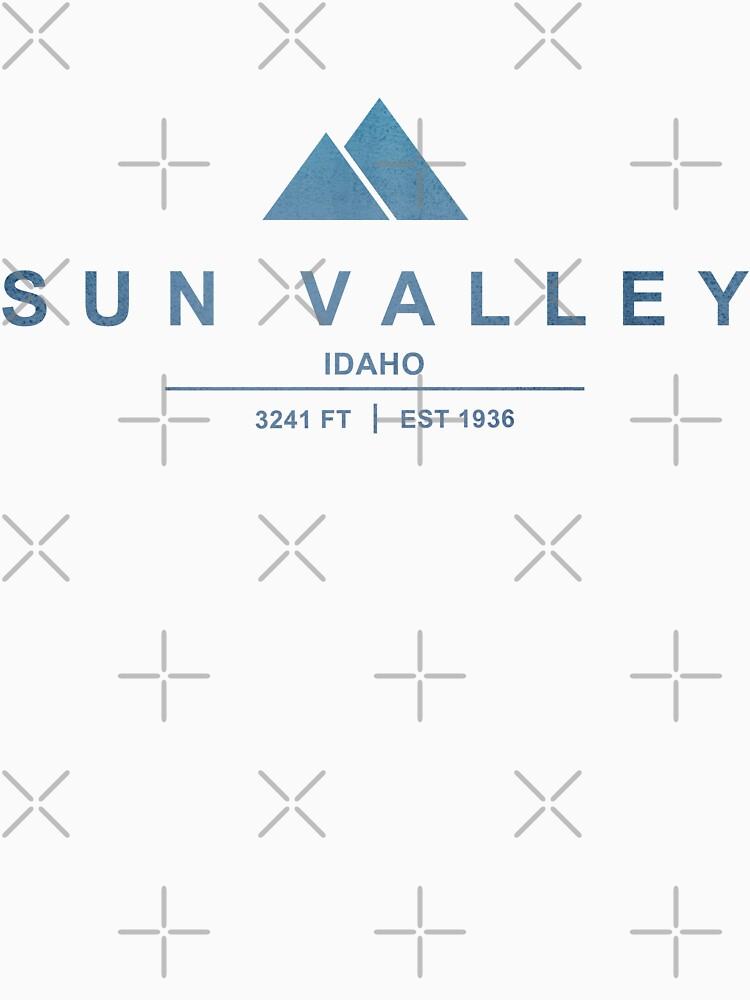 Sun Valley Ski Resort Idaho by CarbonClothing
