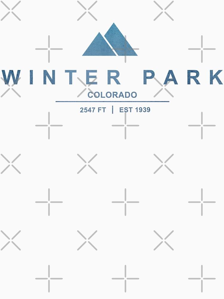 Winter Park Ski Resort Colorado by CarbonClothing