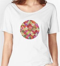 Macro floral bubbles Women's Relaxed Fit T-Shirt