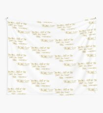 The Office Wayne Gretzky Quote Gold Wall Tapestry