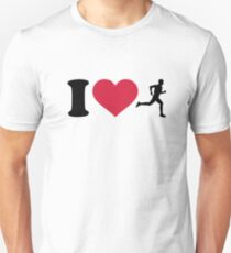I love running T-Shirt