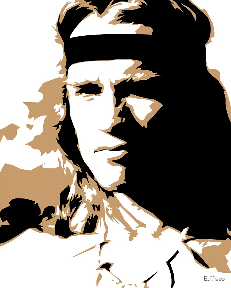 Arnold Swarzeneggar Vector Illustration by EJTees